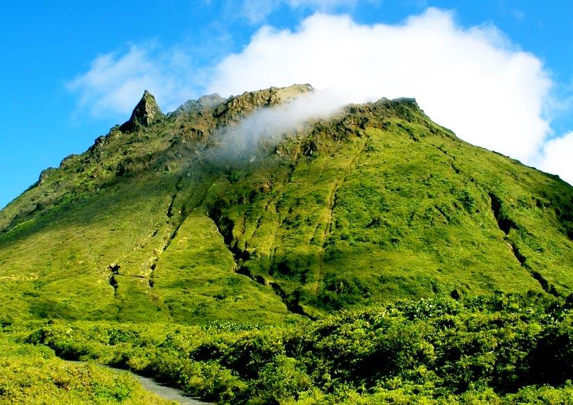 St. Vincent's volcano, La Soufriere