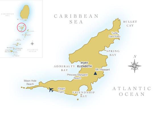 bequia island inlay - Discover Bequia