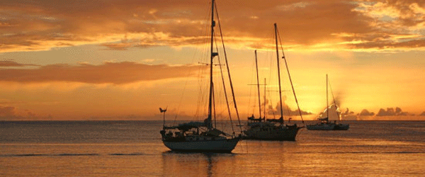 harbor sunset1 - Discover Bequia