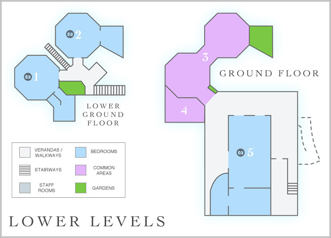 lowerlevels - Floor Plan