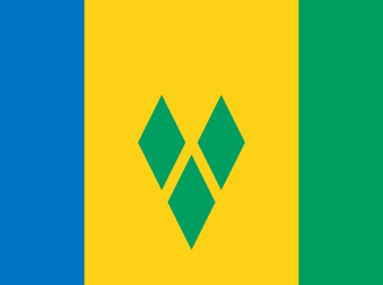 svg flag - Discover Bequia