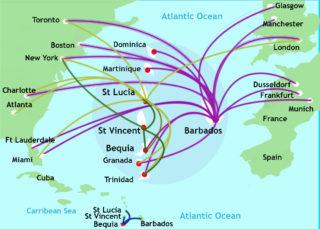 Bequia map